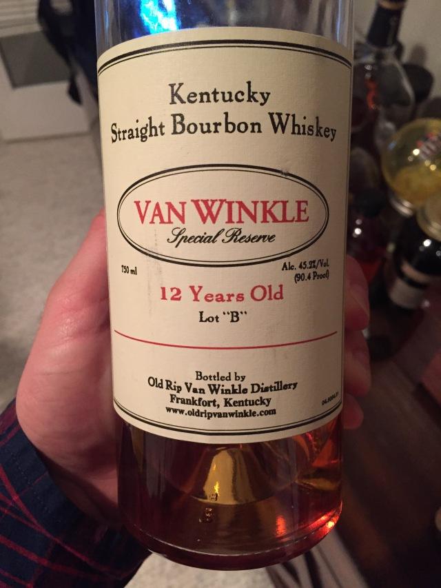 12 Yr Special Reserve Van Winkle